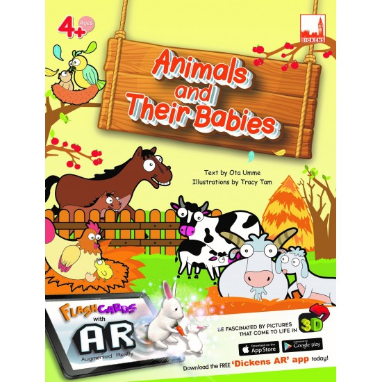 Dickens AR Flash Cards - Animals and their babies
