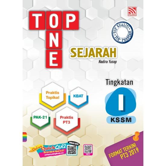 TOP ONE KSSM 2020 SEJARAH TG 1