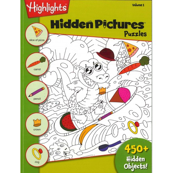 HIGHLIGHTS HIDDEN PICTURES (ENGLISH) VOL. 1